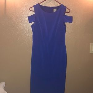 Gorgeous blue fitted dress